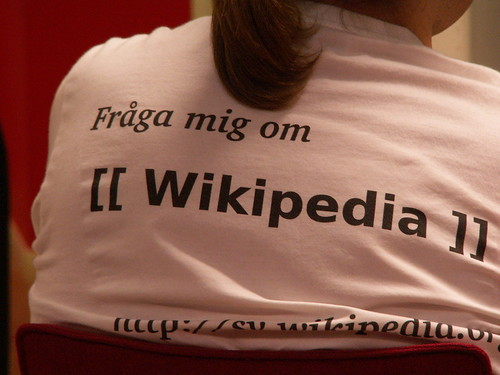 Ask me about Wikipedia | by jonsson