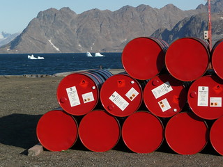 red oil barrels | by ezioman