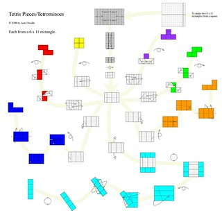 Tetris Pieces / Tetrominoes | by Oriholic Jared