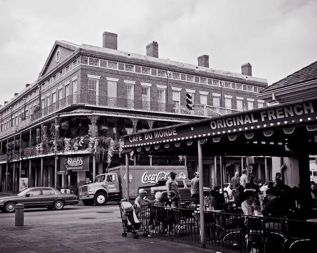 New Orleans Map Cafe Du Monde