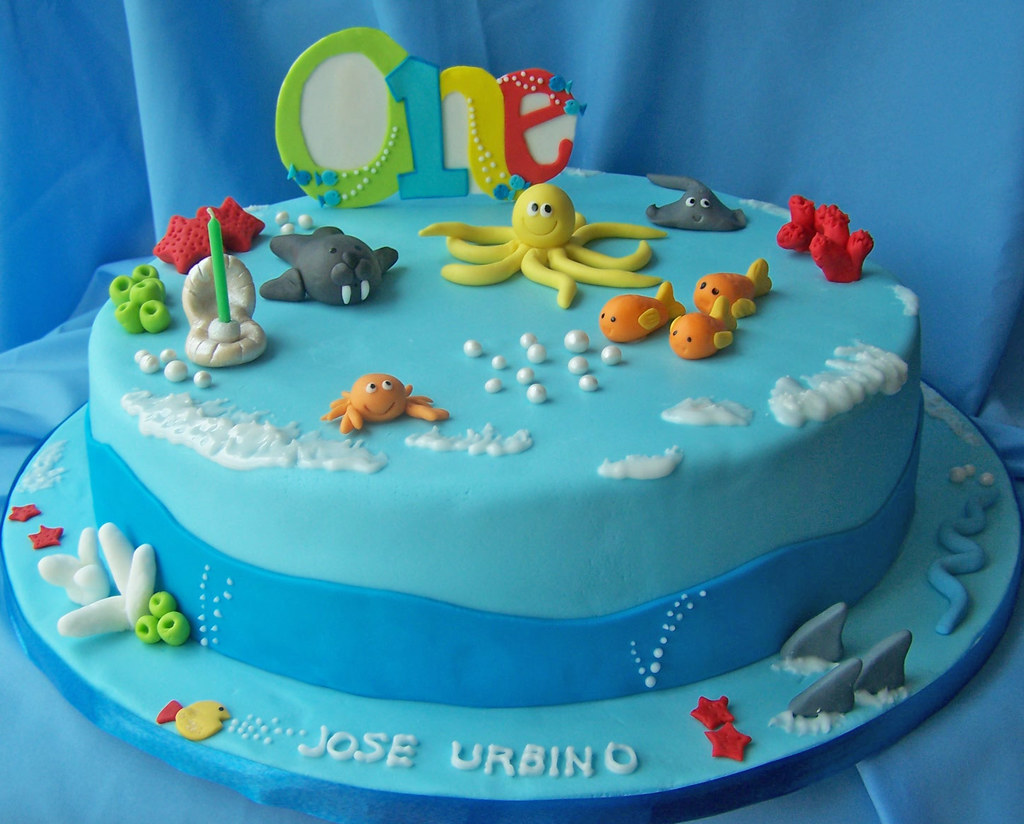 Aquarium Cake Ideas