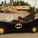 The Batmobile at Gorilla Fireworks - an Alaskan icon in Houston