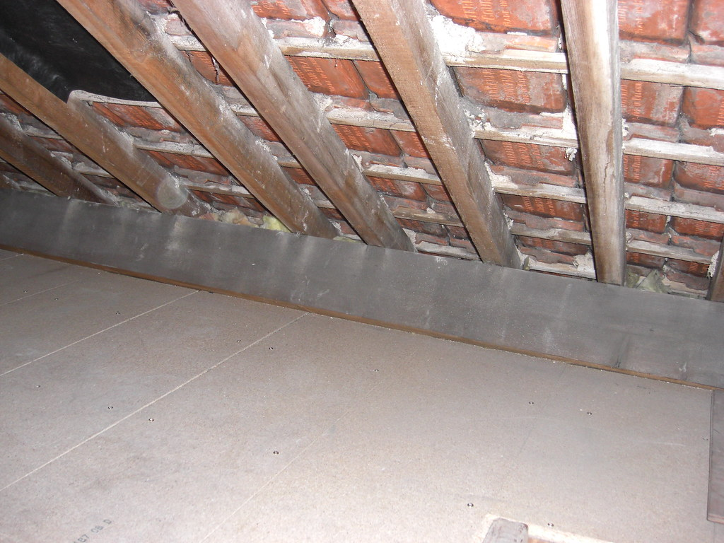 loft with insulation loft boards wilby1 flickr. Black Bedroom Furniture Sets. Home Design Ideas