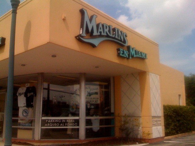Marlins Store In Coral Gables Ines Hegedus Garcia Flickr