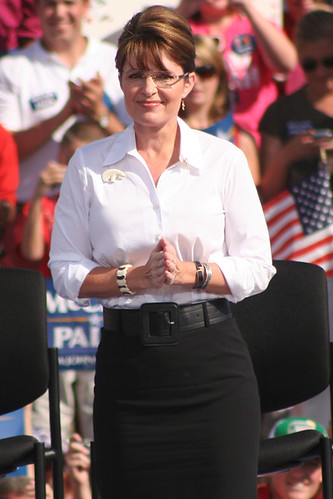 Alaska Governor Sarah Palin campaigns at the Richmond International Raceway in Richmond, Virginia on 10/13/2008 | by mikelynaugh