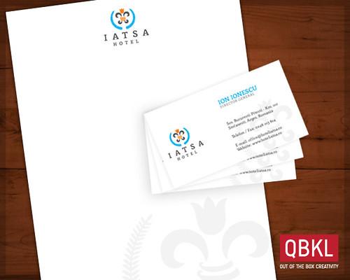 Iatsa Hotel Stationary Letterhead And Business Card