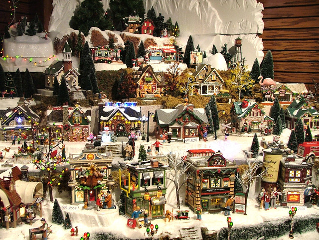 Department 56 Original Snow Village Series Display Flickr