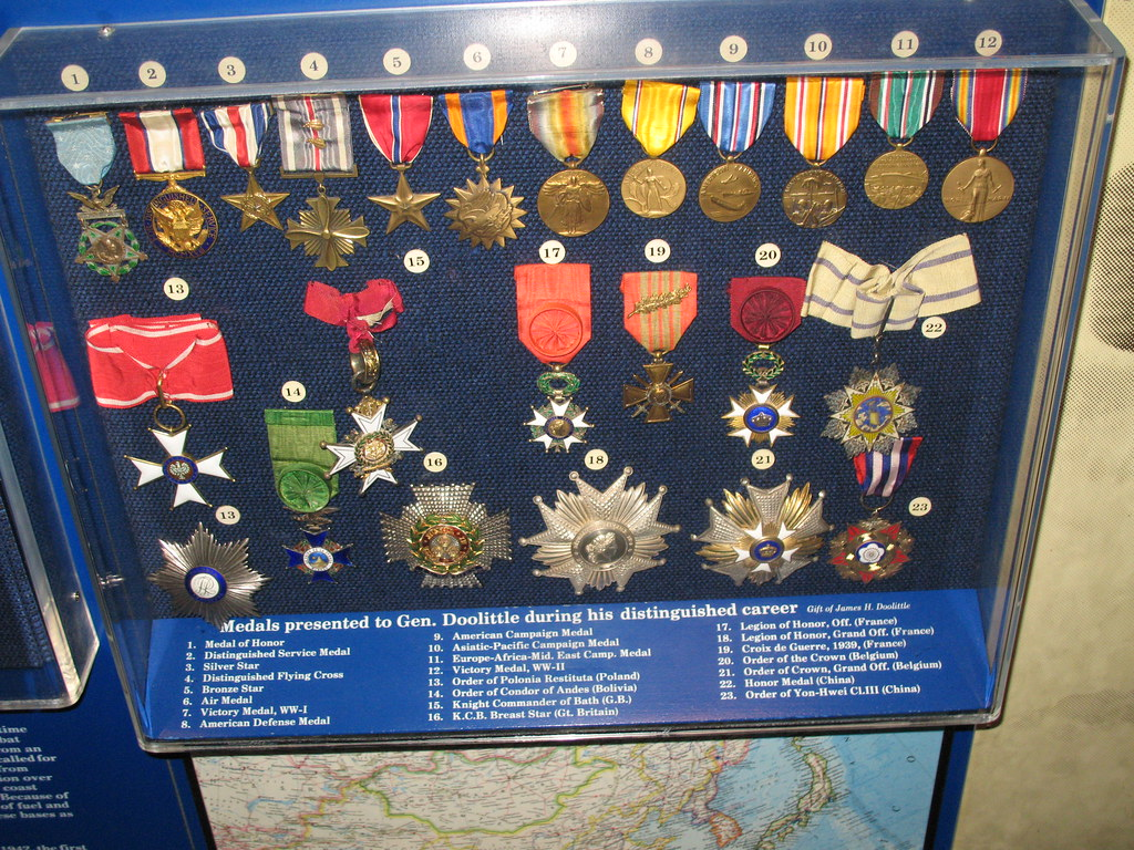 international medals of gen   u0026quot jimmy u0026quot  doolittle