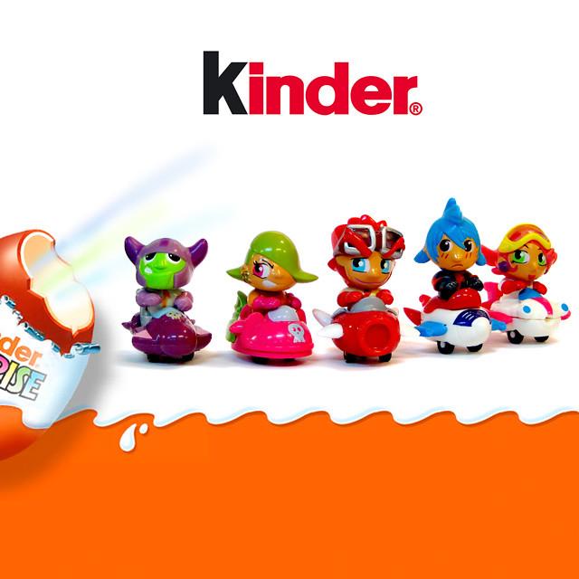 kinder surprise  the mini manga