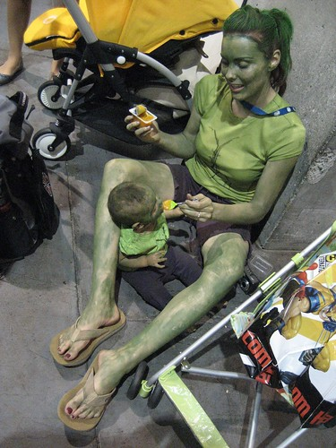 She-Hulk and Baby Hulk | by chris_wass