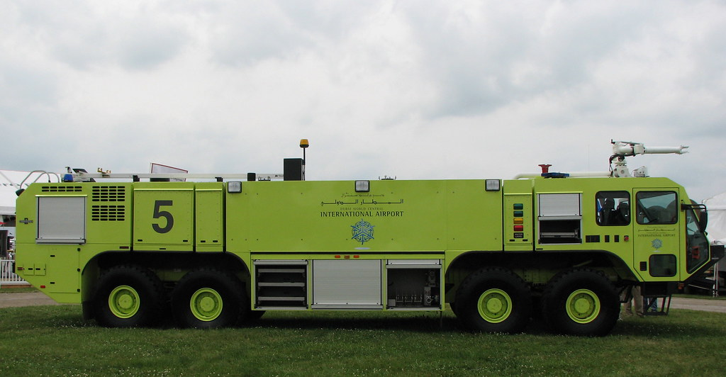 OshKosh Striker 10E Aircraft Rescue and Fire Fighting Vehi ...