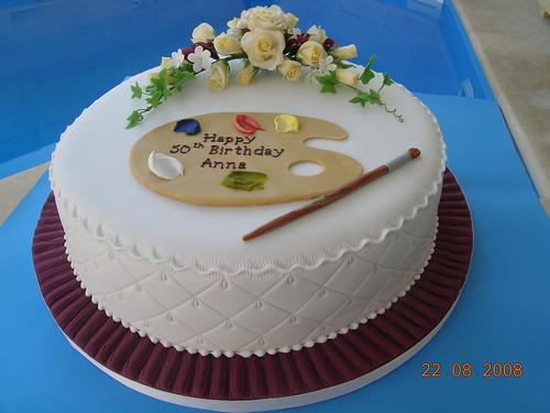 Artist s birthday cake. Made Explore 24 Aug 08 #364 Flickr