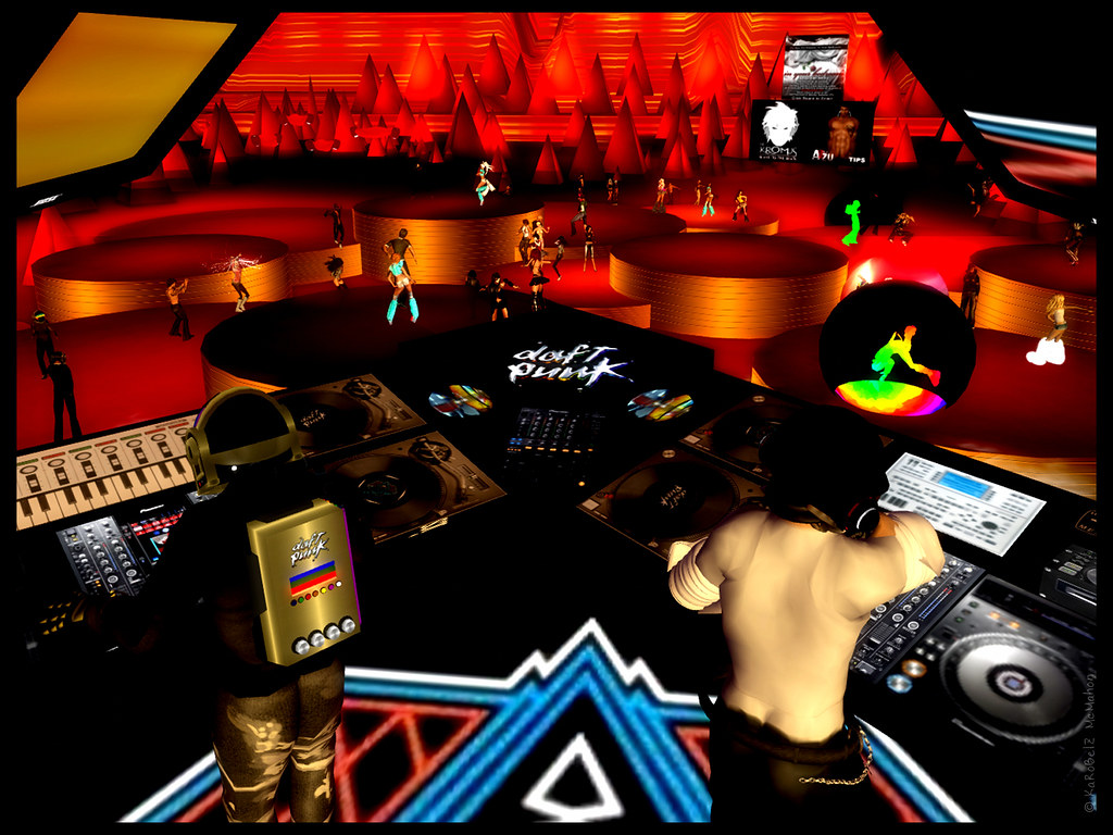 Punk Studio Daft Punk Event Studio Red
