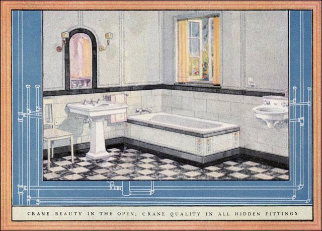 1924 Crane Bathroom Crane Fixtures First Started