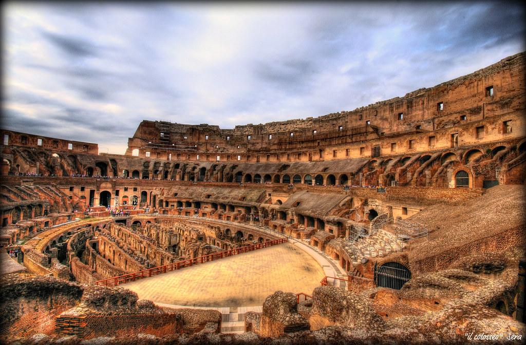 Il colosseo n 39 havia sentit a parlar molt del colisseo i for Interno 5 b b roma