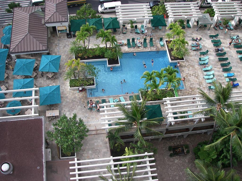 Waikiki Beach Marriott Hotel Map