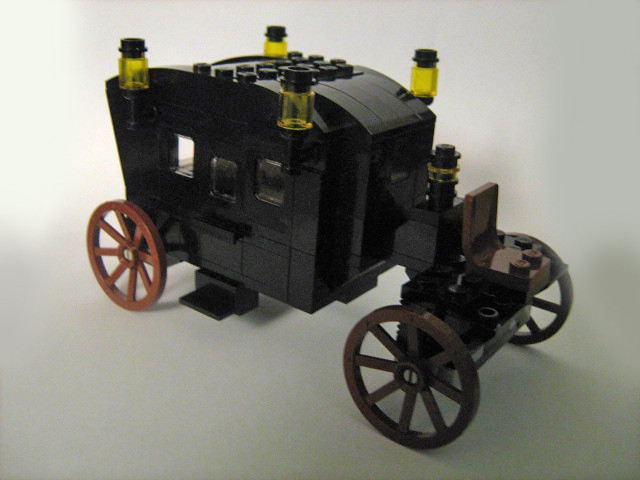 Thestral Carriage The Carriage As Described In The Book