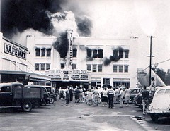 The New Turlock Theater Fire 1946 | by Swede1969