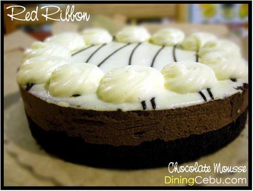 Cebu Food Blog - Red Ribbon Chocolate Mousse Cake | See ...