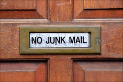 no junk mail | by loop_oh