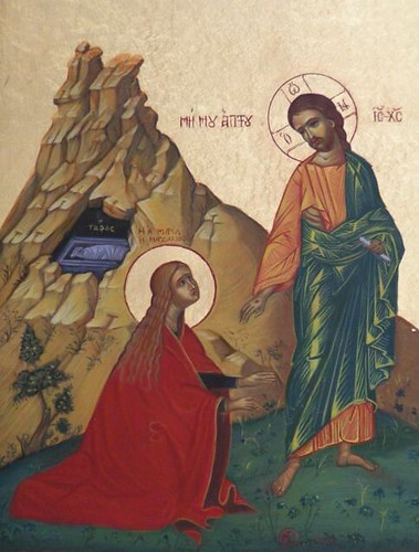 mary-magdalene-01-with-jesus | by Saint Nicholas Orthodox Church