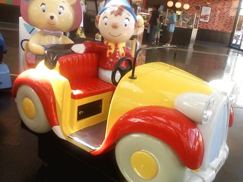 White Company Ride On Car
