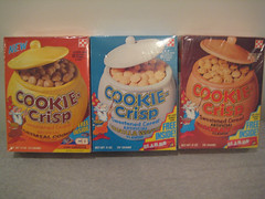 Cookie-Crisp Cereal Boxes | by gregg_koenig