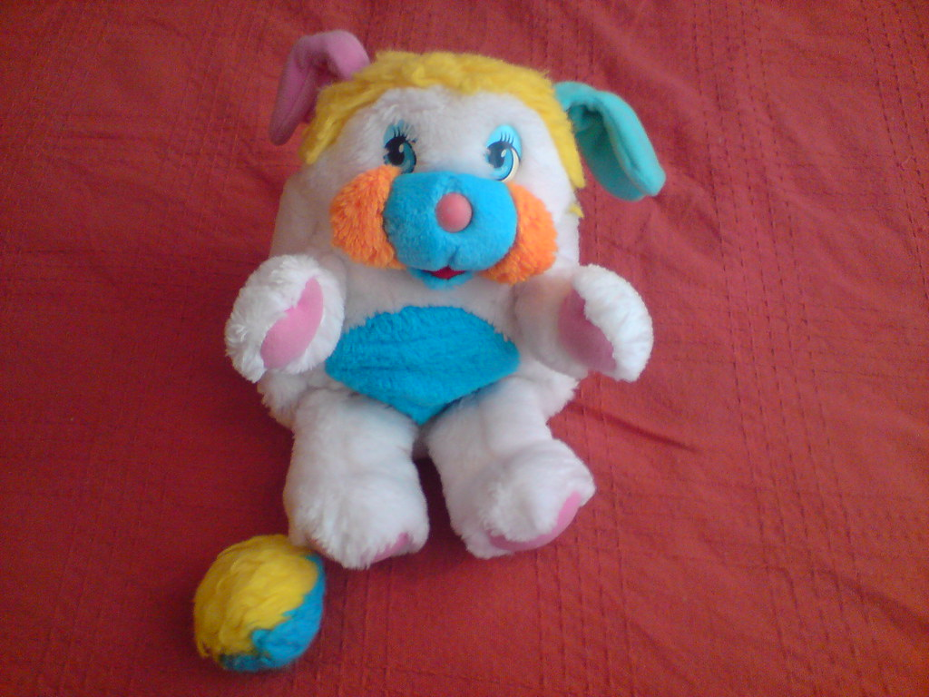 Squishy Toys From The 80s : Popple An 80 s Soft Toy Spider.Dog Flickr