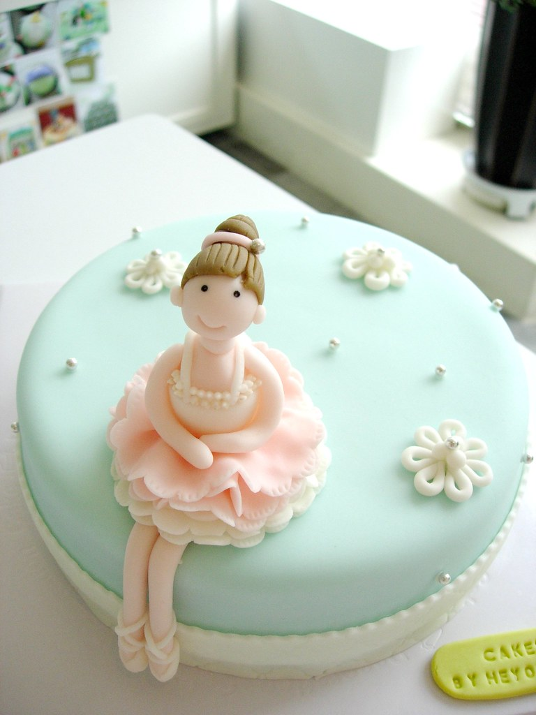 Cake Design Ballet : Ballerina Cake Cake for a girlfriend who is a ballerina ...
