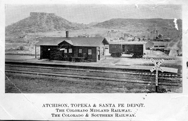 The Rock Cars >> Atchison, Topeka & Santa Fe Depot. | ACCESSION NUMBER: 1992.… | Flickr