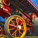 Showman's road locomotive at the Great Dorset Steam Fair