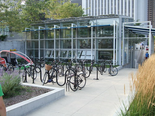 Millennium Park Bicycle Station | by Steven Vance
