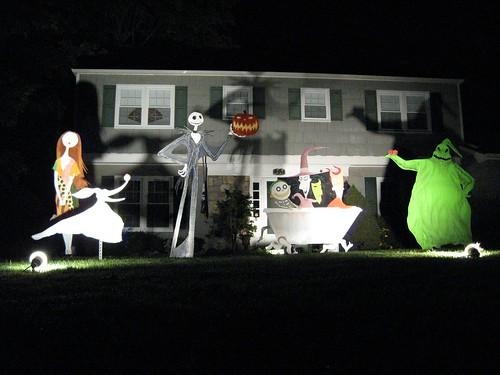 Nightmare Before Christmas Halloween Decor