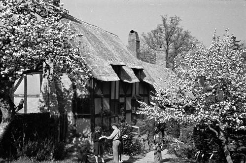 1702 Ann Hathaways house Stratford on Avon