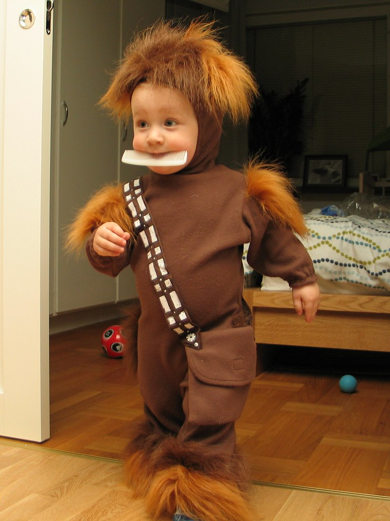 Mini Chewbacca Called Doody Dude Celebrated His