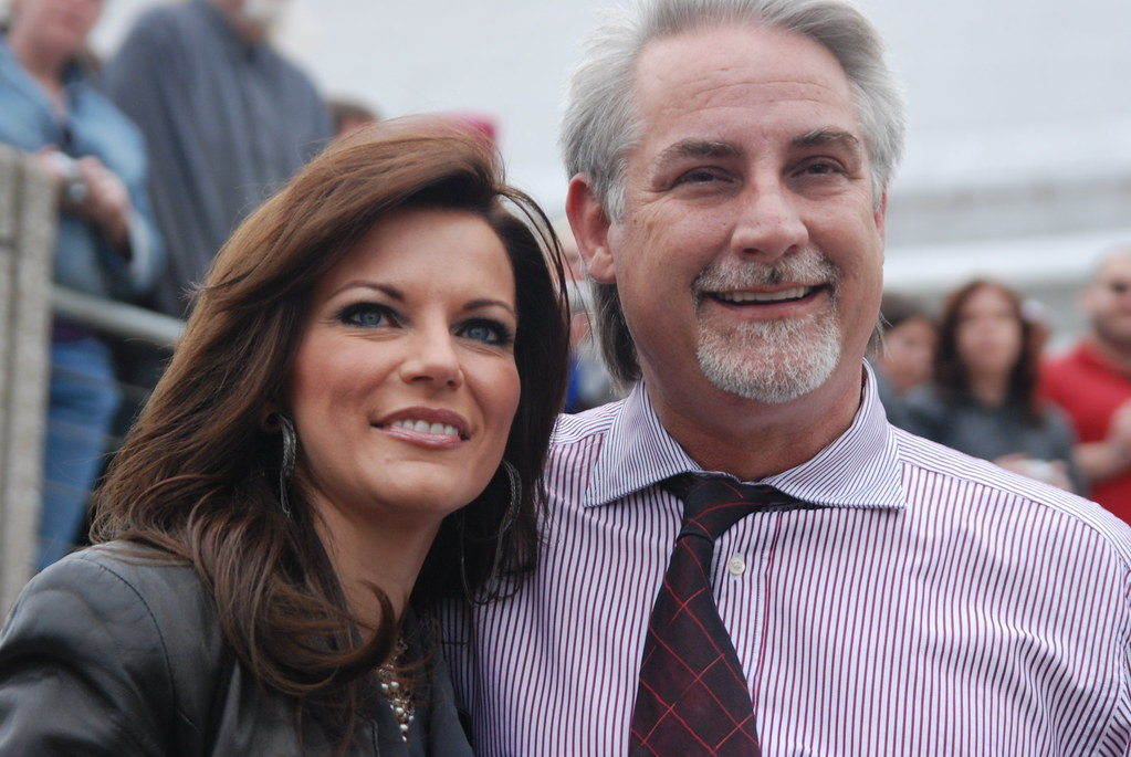 Martina McBride with friendly, mysterious, intelligent, Husband John McBride