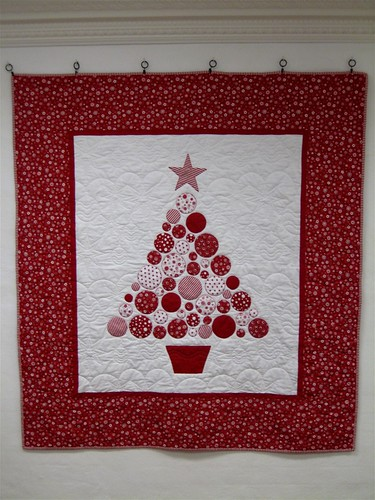 Baubles - Christmas Tree Quilt | by lululollylegs