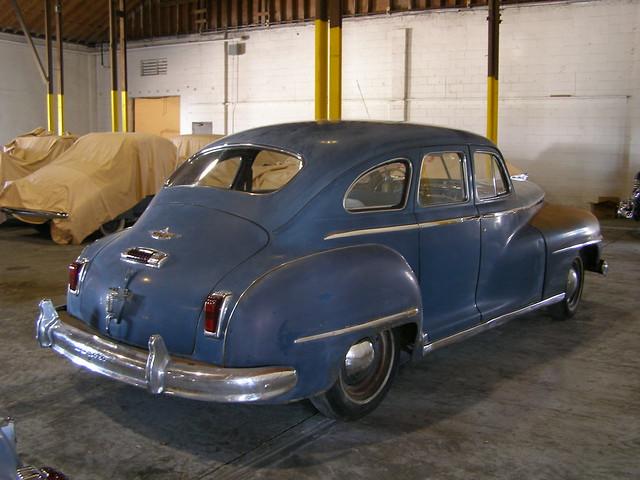 225 434 1947 Desoto Custom Sedan 4 Door Suicide Rear Doors