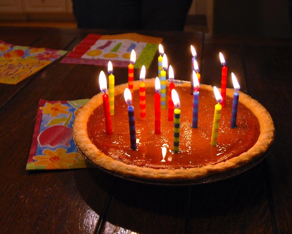 Pumpkin Pie Birthday Cake