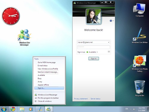 how to use windows live messenger
