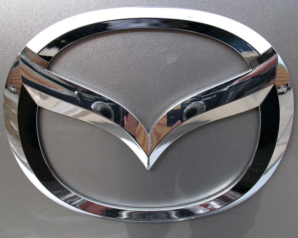Mazda 3 Badge Chrome Badge On The Back Of Our 2006 Mazda