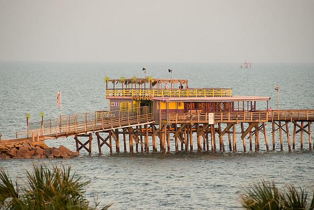 Galveston pier galveston tx perry flickr for Galveston pier fishing