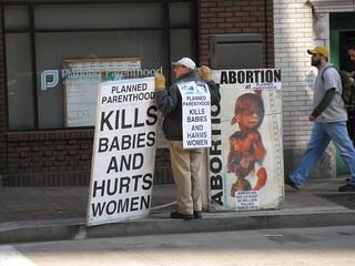 Abortion Protest | by daveynin