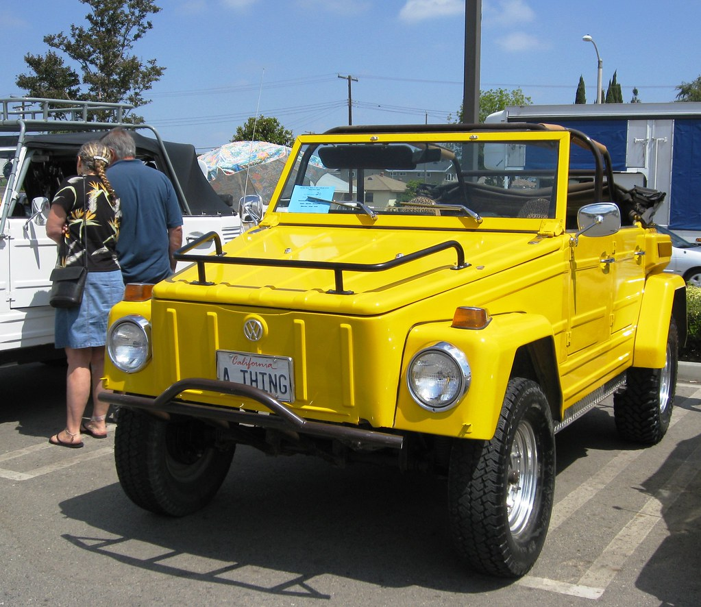 Vw Thing Vw Thing Gathering Garden Grove Mr38 Flickr