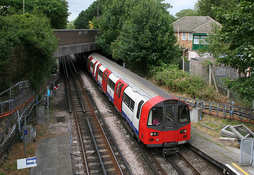 1995 Tube Stock at West Finchley