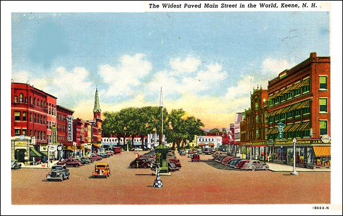 Main Street, Keene NH in the 1940s | by Keene and Cheshire County (NH) Historical Photos