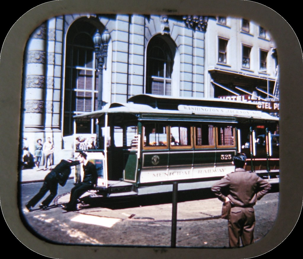 Powell St. Cable Car Turnaround