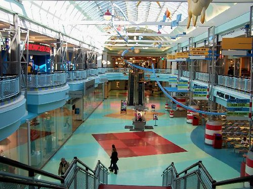 Cincinnati Mills Mall Interior View At First Glance