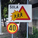 Slovenia - School Traffic Sign