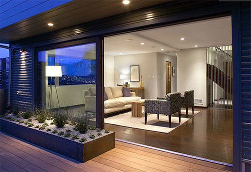 Modern minimalist house picture modern minimalist for Diseno de interiores para casas pequenas